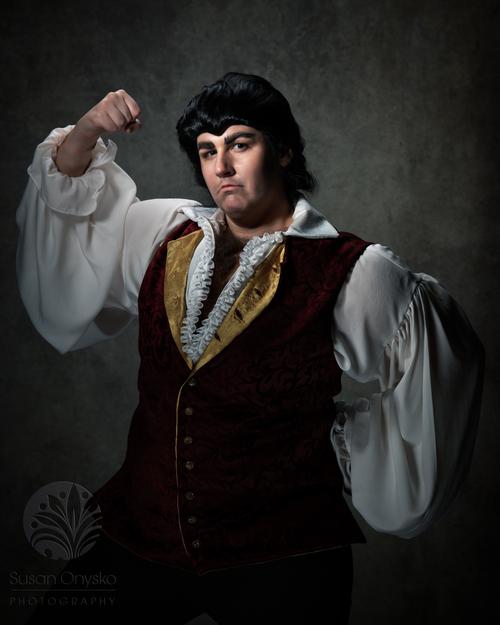 Gaston Cosplay