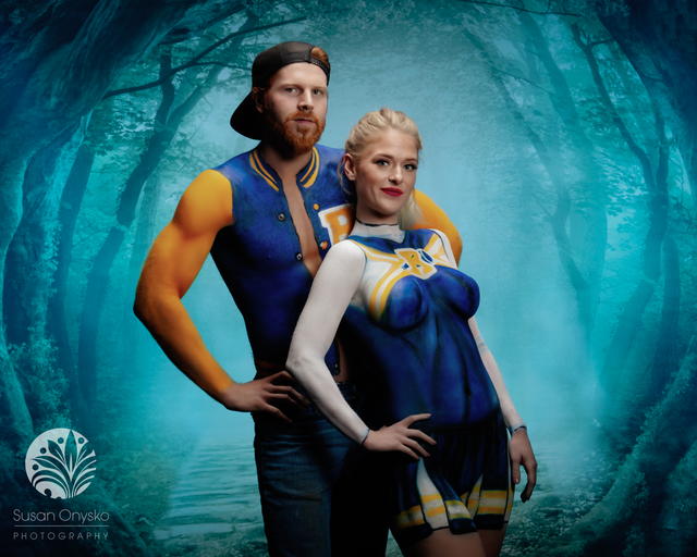 Archie Body Paint Cosplay
