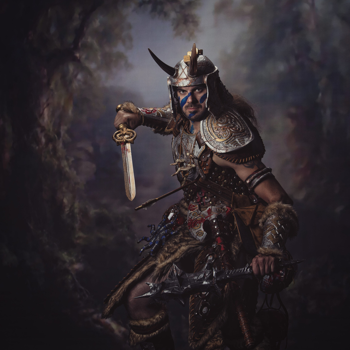 Skyrim Elder Scrolls Nord Cosplay