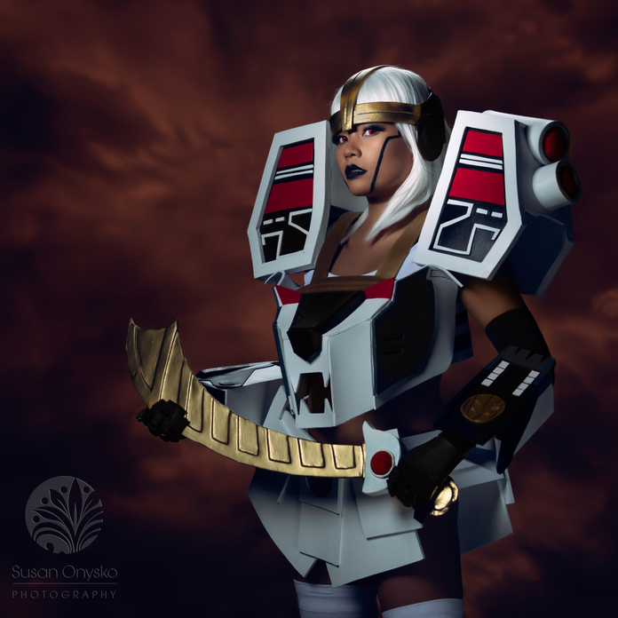 White Tiger Zoid Cosplay