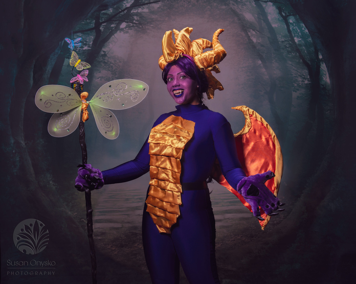 Spyro the Dragon Cosplay