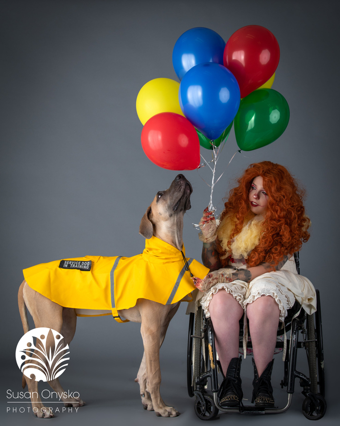 Pennywise and Georgie Cosplay