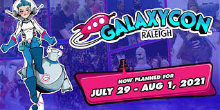 GalaxyCon Raleigh 2021
